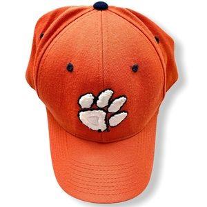 Zephyr Clemson Hat Cap Baseball Orange Tiger Paw